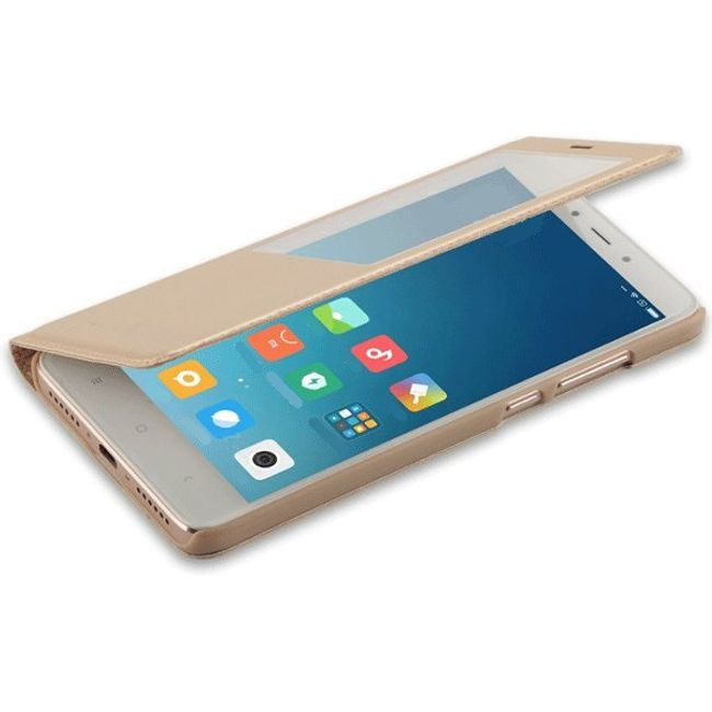 Flipové pouzdro s okénkem pro Xiaomi Redmi Note 4X/Note 4 1