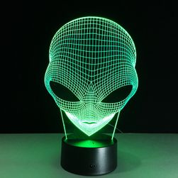 3D-s lámpa idegennel