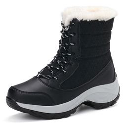 Ženske tople cipele sa veštačkim krznom - 4 varijante