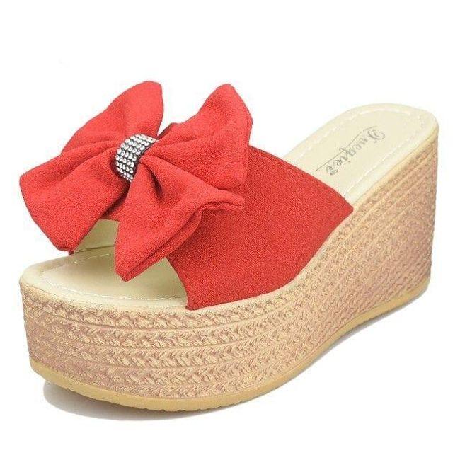 Dámské pantofle na klínku Revella 1