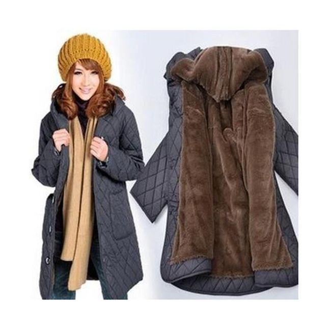 Topli kaput Mandy u plus veličinama 1