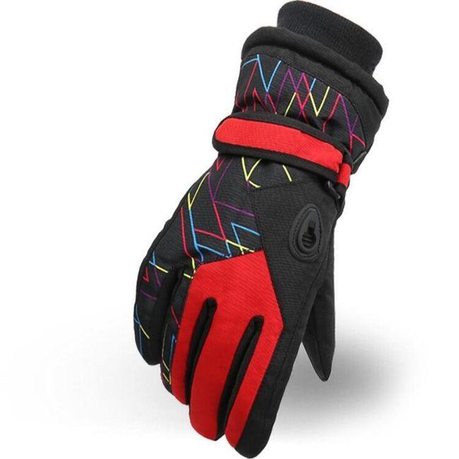 Zimowe rękawiczki dziecięce WG113 1