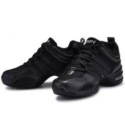 Ženske čevlje z zračnimi podplati Črna-39