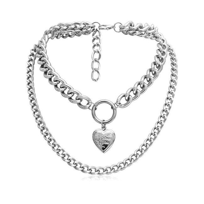 Dámský náhrdelník B04760 1