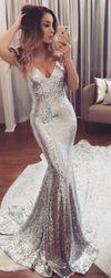 Вечерна рокля с гол гръб - 4 размера