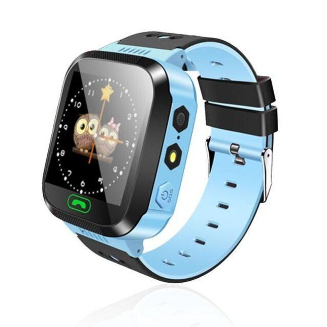 Chytré multifunkční hodinky pro děti - Modrá 1