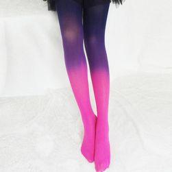 Ciorapi pentru femei în design ombre