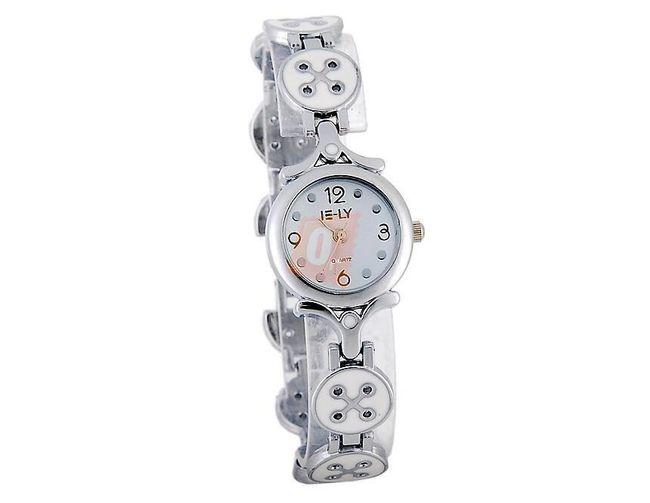 Dámské náramkové hodinky ELY - bílé 1