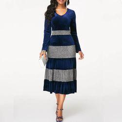 Uzun kollu bayan elbise Danique