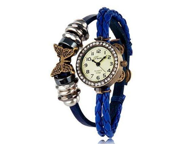 Retro hodinky s motýlem - na výběr ze 3 barev 1