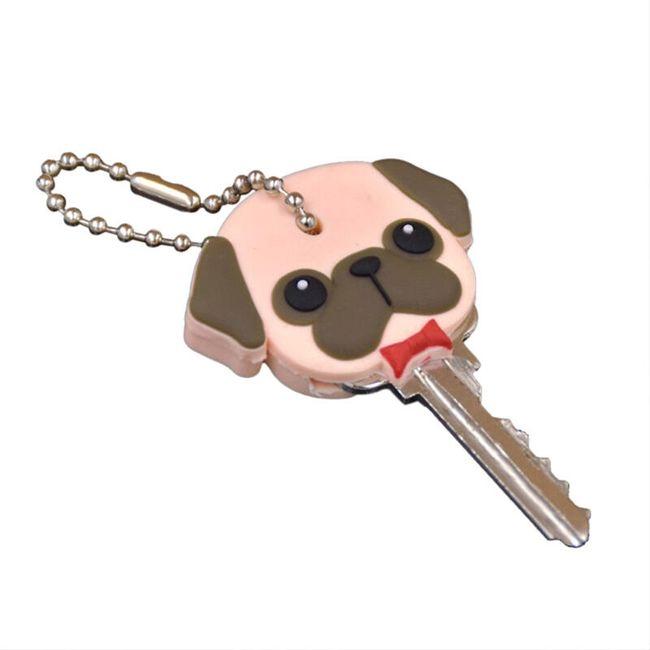 Krytka na klíč - pejsek 1