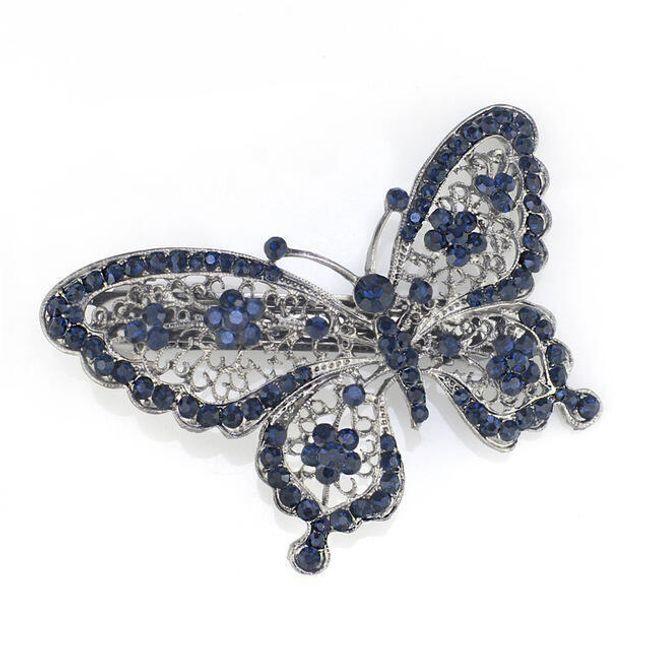 Spona do vlasů - motýlek 1