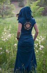 Dlouhé dámské šaty Saron