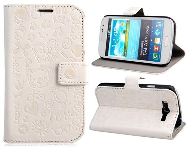 Koženkové pouzdro pro telefon Samsung Galaxy Grand DUOS / i9082 1