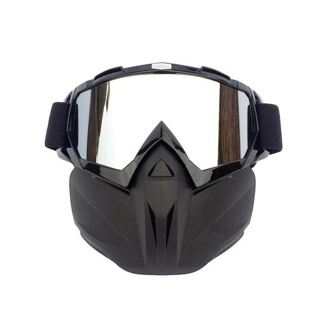 Lyžařské brýle s maskou HL54 1
