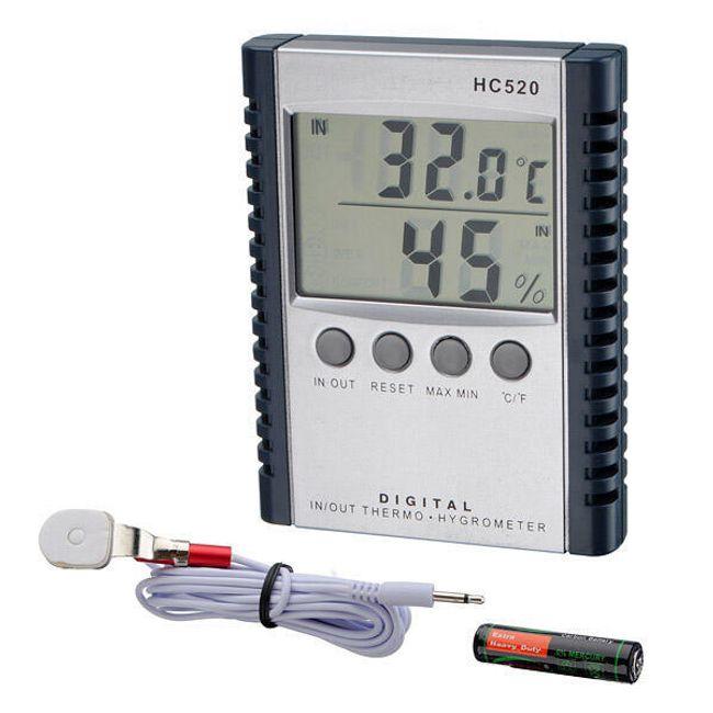 Digitální teploměr (venkovní a vnitřní teplota) a vlhkoměr 1