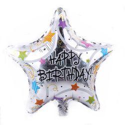 Balon urodzinowy w kształcie gwiazdy