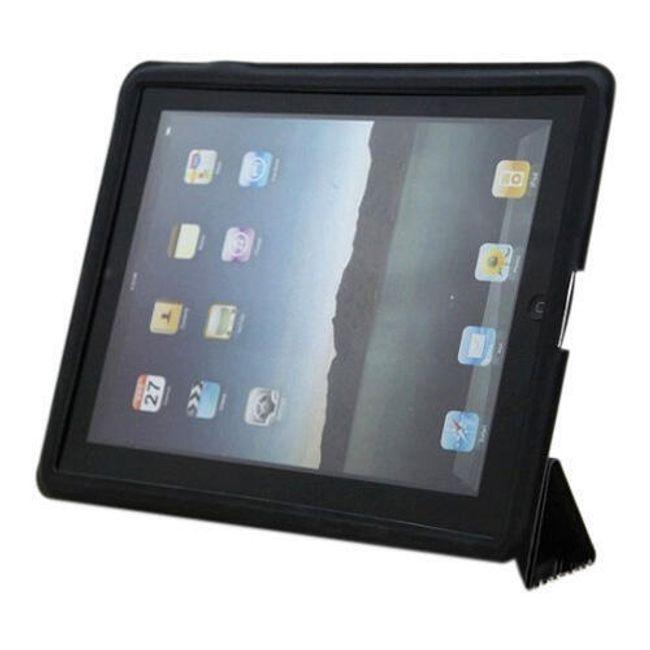 Magnetické chytré pouzdro pro iPad 2 - černé ultratenké 1