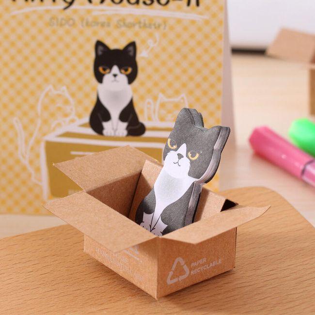 Lepíky s kočičím motivem 1