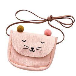 Malá kabelka s motivem kočky přes rameno - 4 varianty