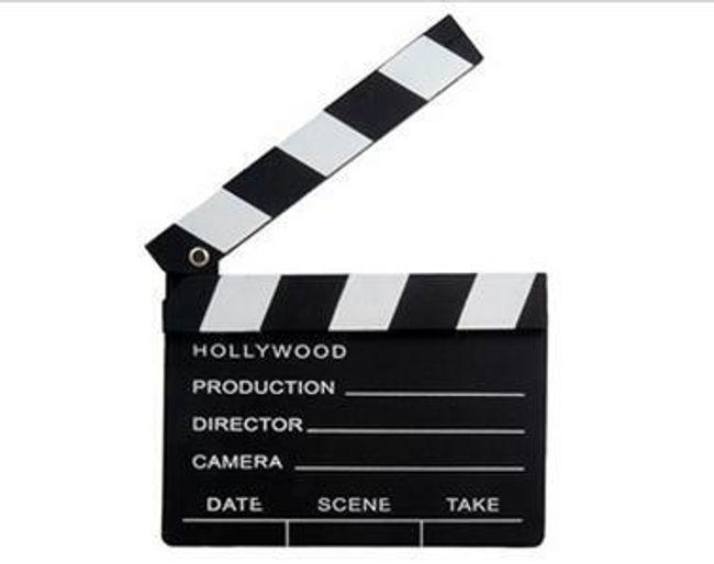 Dřevěná filmová klapka 1