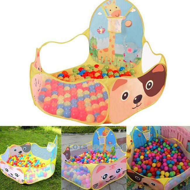 Taşınabilir çocuk oyun parkı 1