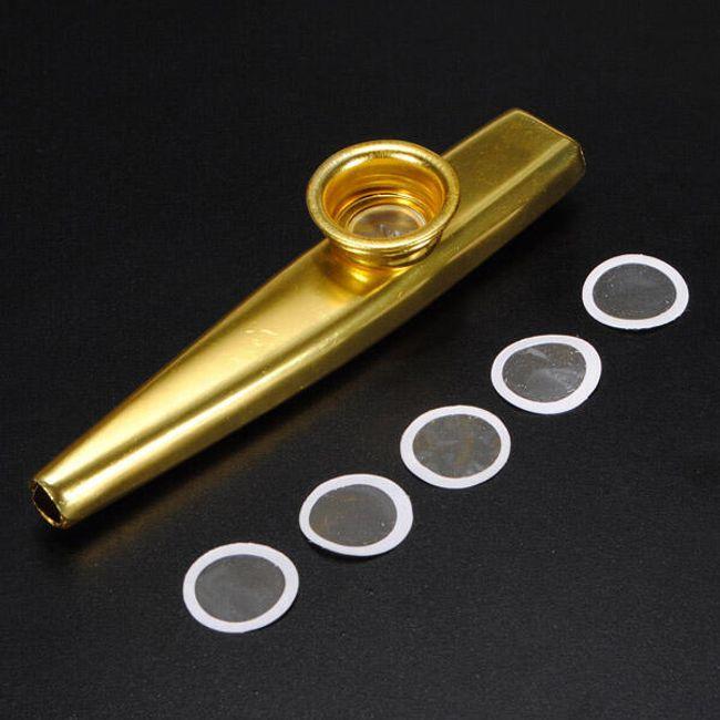 Instrument muzyczny kazoo z zastępczymi membranami 1