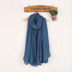 Едноцветен дамски шал - различни цветове