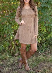Dámské šaty s dlouhým rukávem Korra