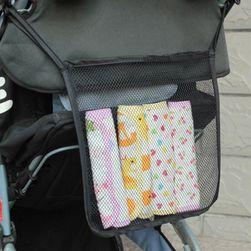 Síťovaná taška na kočárek