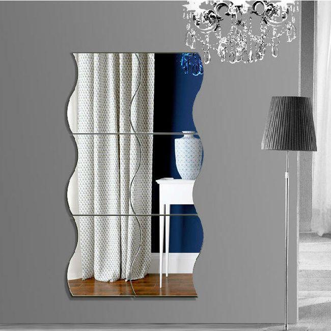 Nalepnica za steno - ogledalo 1