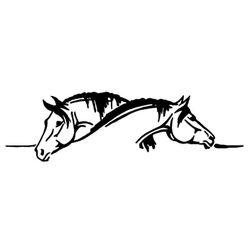 Nalepnica za kola - konji