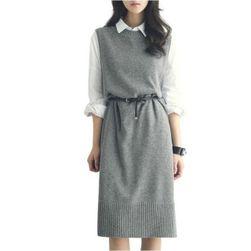 Ženska pletena haljina Aleria