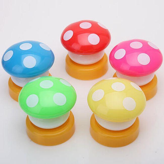 Lampka dotykowa - kolorowy grzyb 1