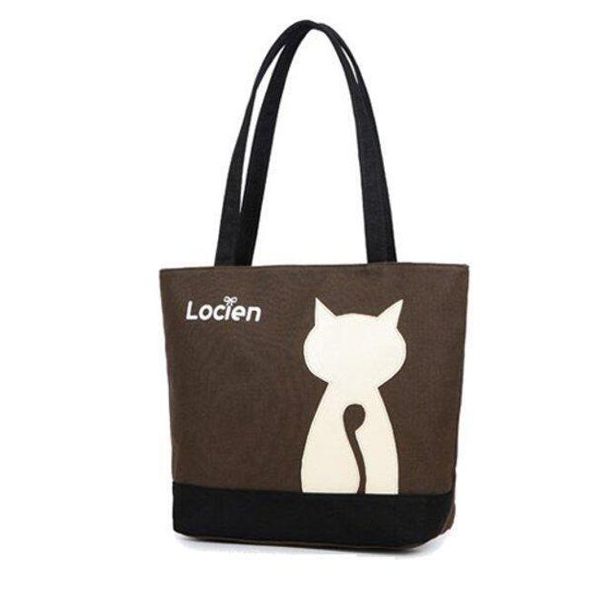 Женская сумка с кошкой 1