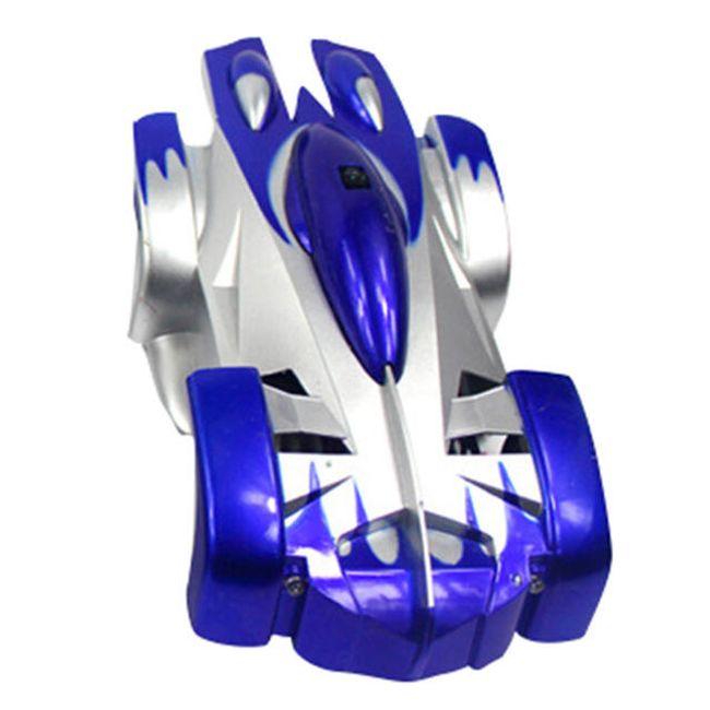 Antigravitační auto na dálkové ovládání - modré 1