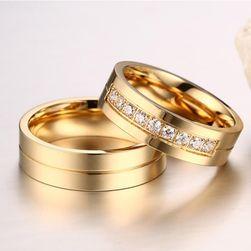 Венчален пръстен - златен цвят