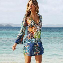 Rochie de plajă multicoloră