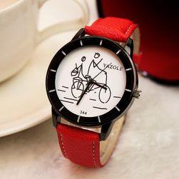 Дамски аналогов часовник в различни цветове