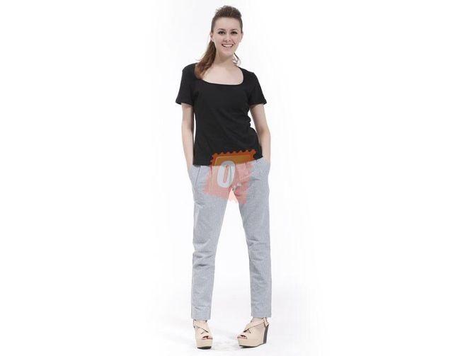 Dámské proužkované kalhoty  1