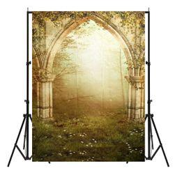 Foto zid sa motivom drevne bašte - 210 x 150 cm