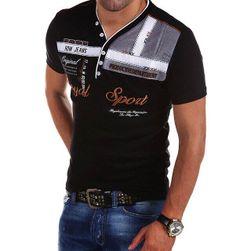 Męska koszulka z krótkim rękawem Kaysen