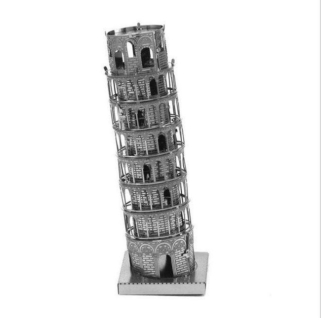 Металлические пазлы 3D  1