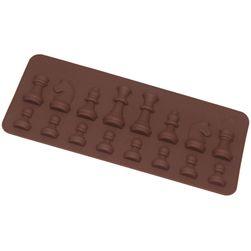 Silikonowa forma do pieczenia - figury szachowe