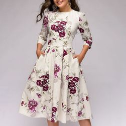 Dámské šaty s dlouhým rukávem Cassie