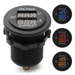 Digitalni voltmetar i ampermetar za auto