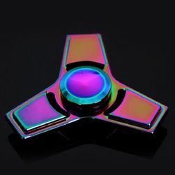 Kolorowy cało-metalowy Fidget z lśniącą powierzchnią