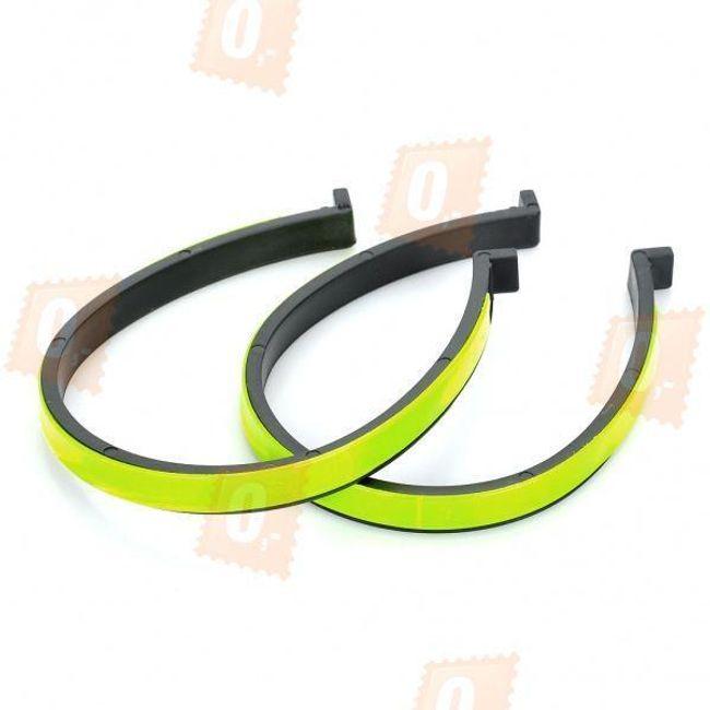 Reflexní pásky pro jízdu na kole - 2 kusy 1