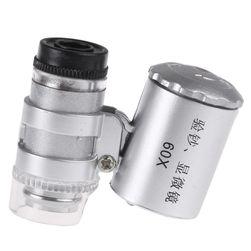 Mini přenosný mikroskop