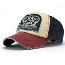 Унисекс ретро шапка с козирка